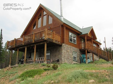1718 Ottawa Way, Red Feather Lakes CO 80545