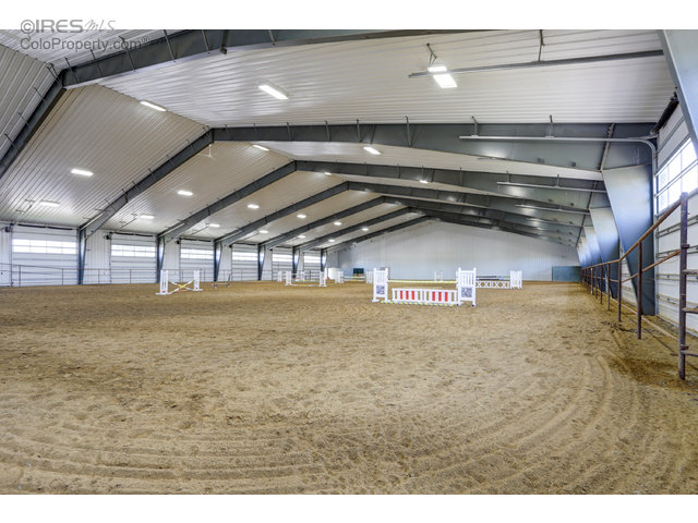 Huge riding arena