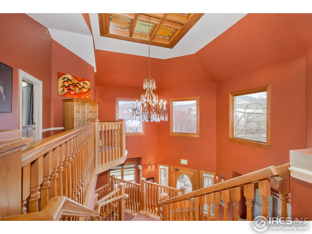 Upstairs Landing/Chandelier