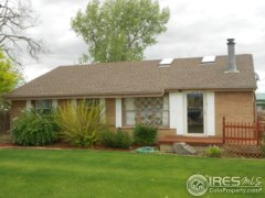 Front of house: 13518, County Road 1, Longmont