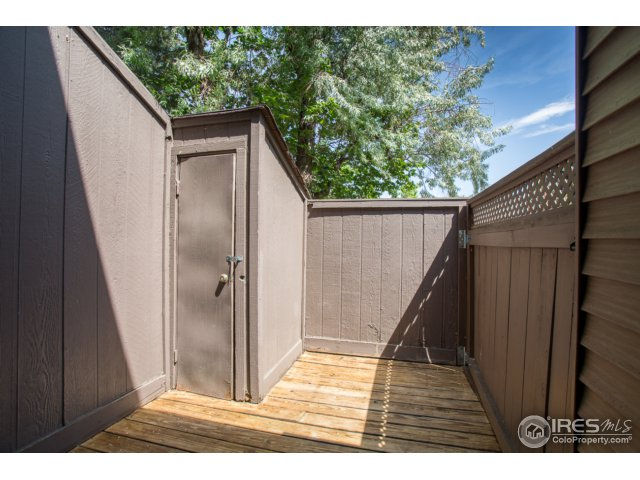 enclosed front porch with storage