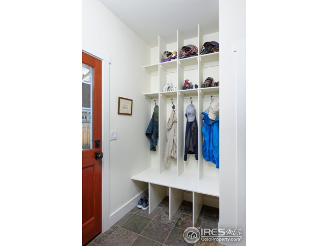 Mudroom to Garage and Yard