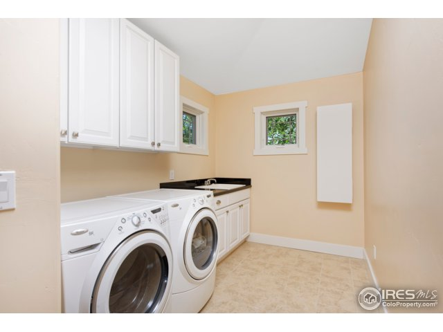 Laundry Room, Large Linen Closet and Sink