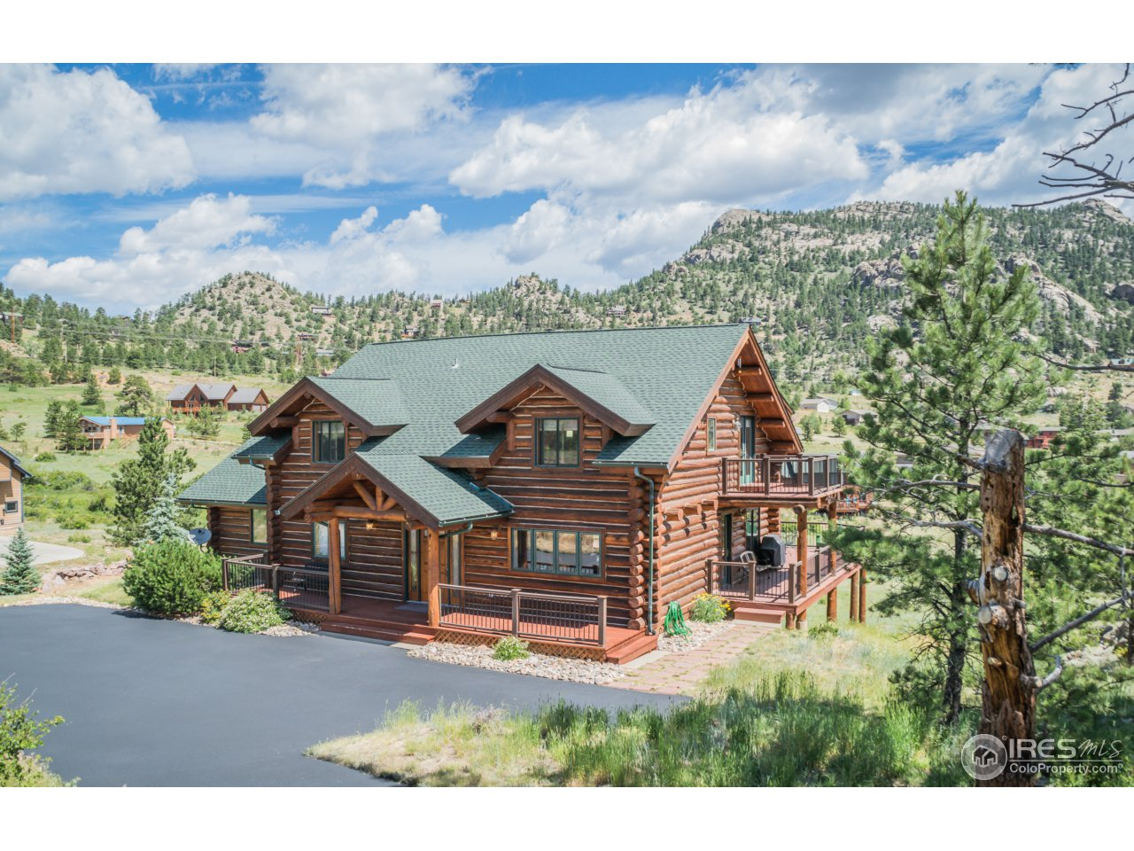 Property Photo For 145 Cherokee Ct Estes Park CO 80517 MLS 827549