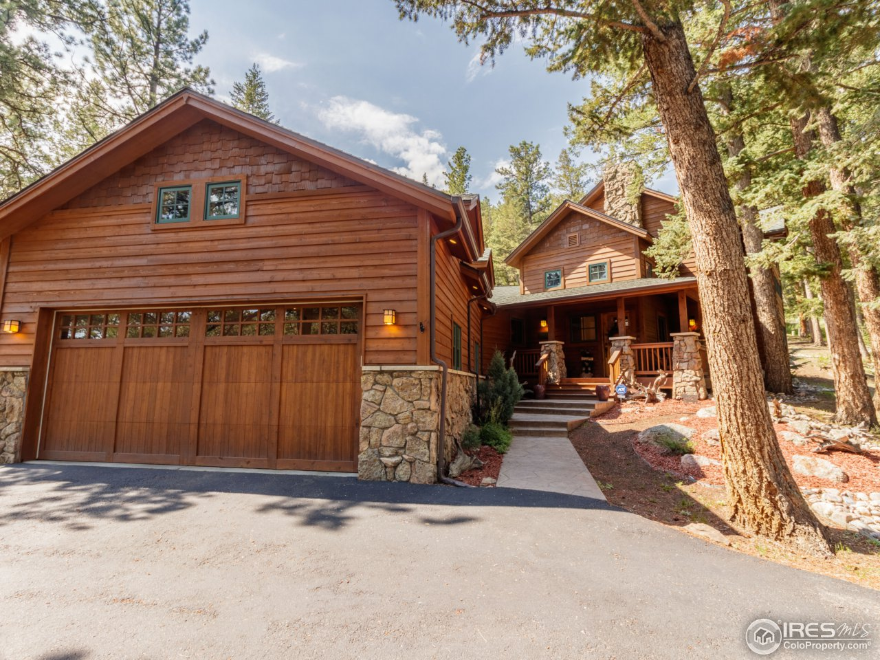 Property Photo For 1840 Sleepy Hollow Ct Estes Park CO 80517 MLS