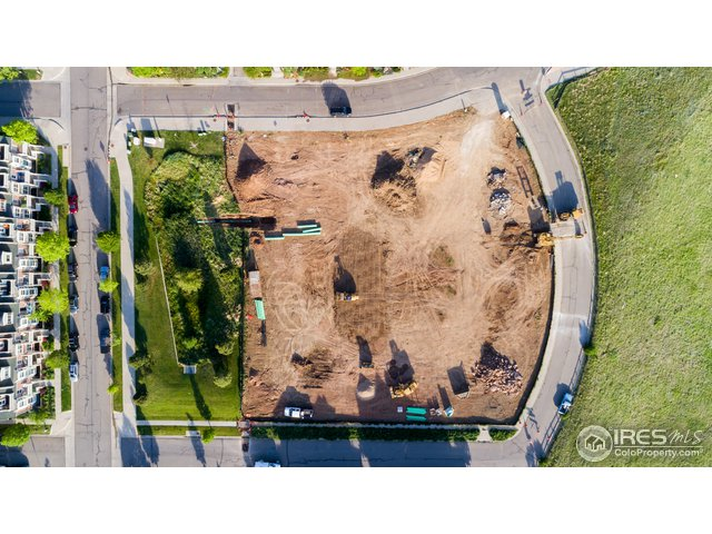 Overhead view of site