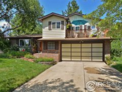 Front with balcony: 1466, Mayfield, Longmont