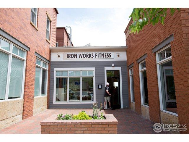 North Boulder's Gym-Iron Works