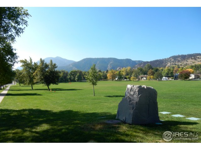 North Boulder Park down the street!