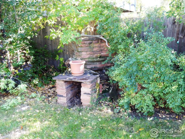 Old stone firepit/grill