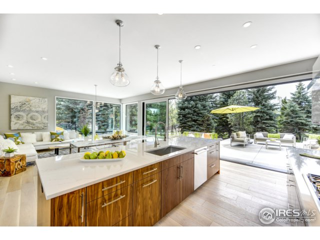 Open Kitchen-Dining-Family Concept