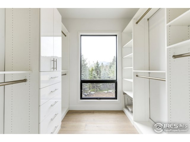 Master walk-in Closets