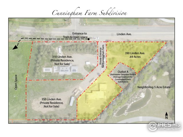 Lot Location & Cunningham Farm Subdivision