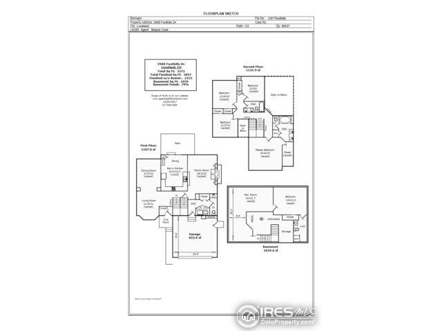 3908 Foothills Dr Loveland, CO 80537 - MLS #: 834649