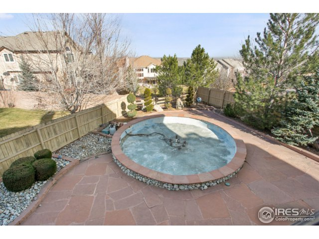immaculate fountail, backyard zero scaped