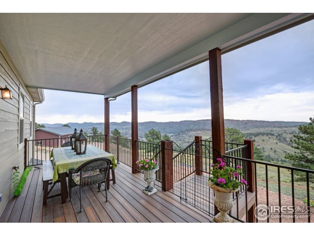 Covered Deck with Views