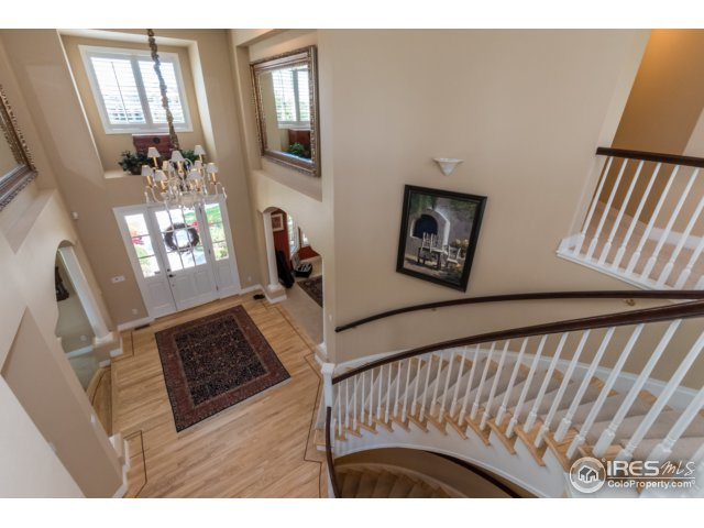 Upstairs to 4 bedrooms, and study/loft