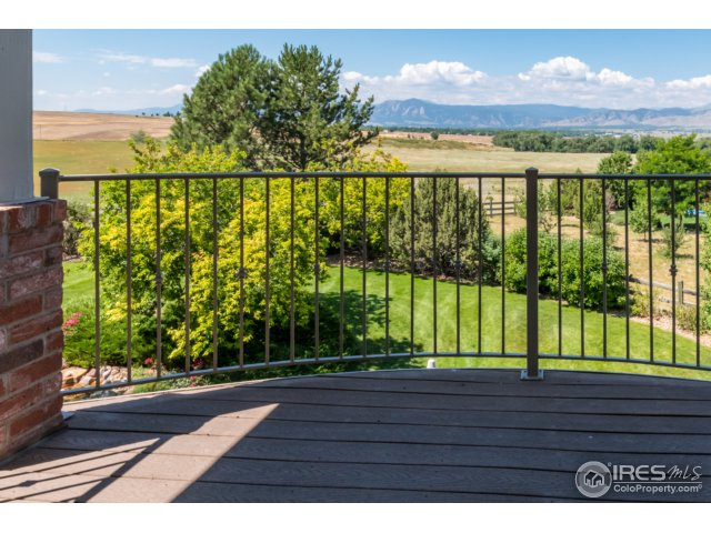 Panoramic views from Master deck
