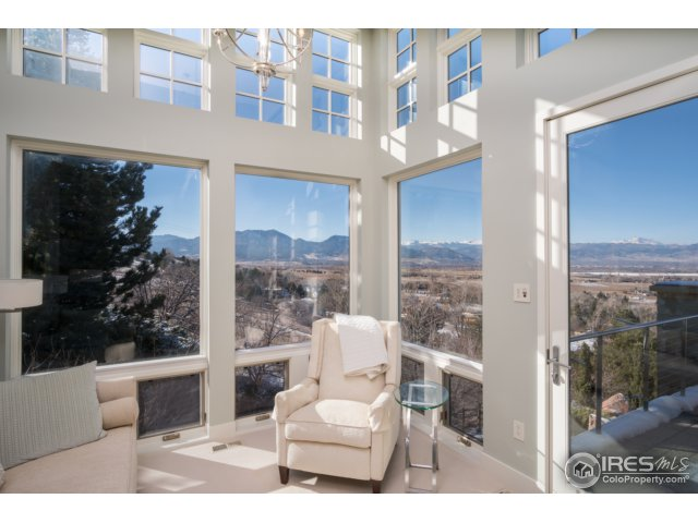 Master reading room w/private terrace & more views