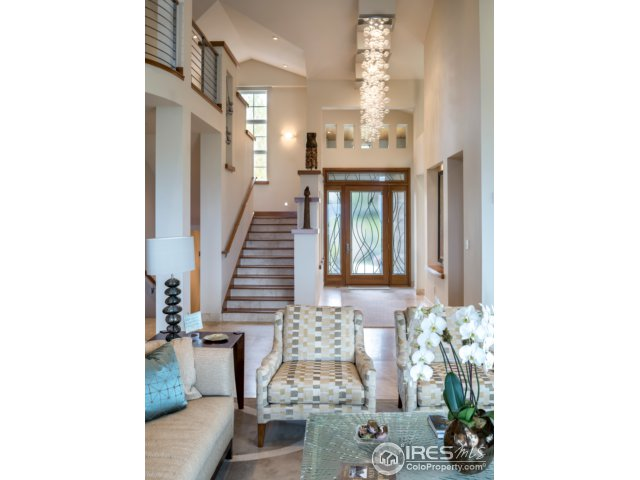 French limestone floors throughout main level