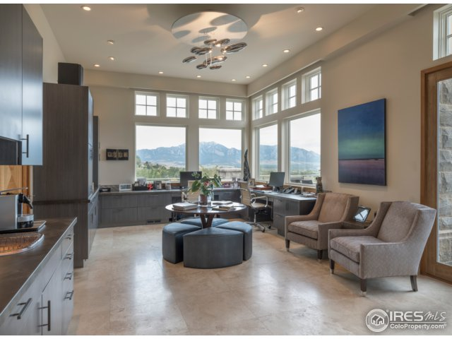 WOW! Study w/wet bar & access to a heated terrace