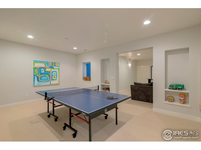 Rec. room big enough for the ping pong table!