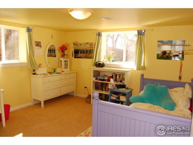 Bright basement bedroom