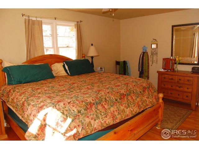 master bedroom has 3/4 bath