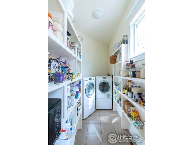 pantry/secondary laundry area