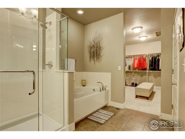 Master bath with view to close