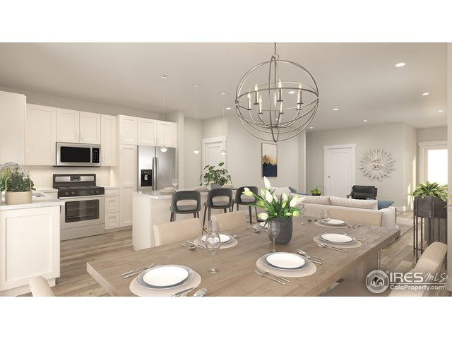 Spacious Kitchen with Large Island