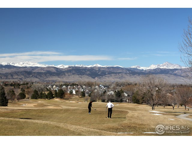 Walk To The Indian Peaks Golf Course