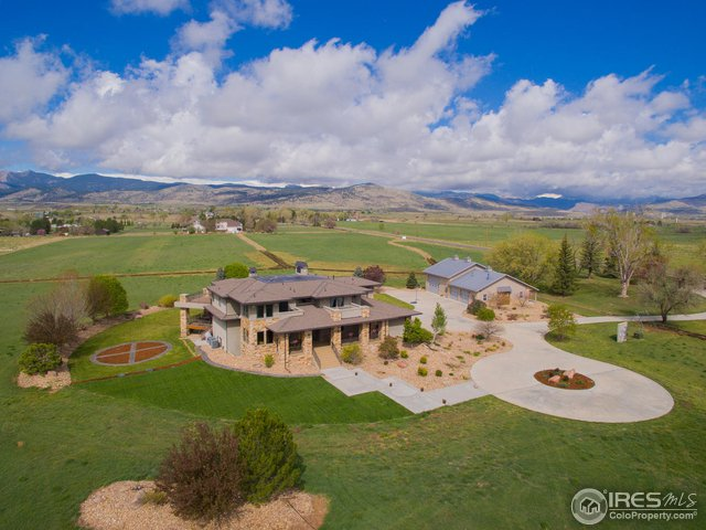 Luxury & Privacy on 40 Acres West of Hygiene!