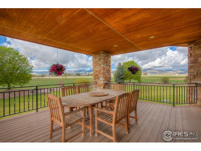 Kitchen opens to Covered deck with Mountain Views!