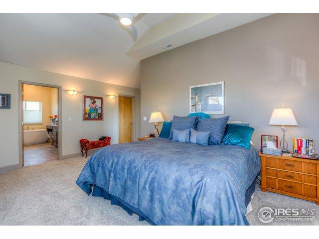 Master bedroom with study/nursery