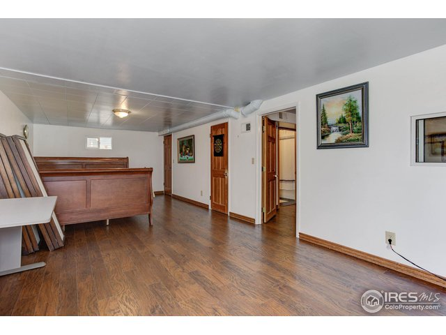 large room with walkout