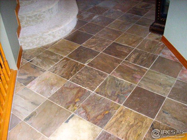 Gorgeous slate flooring