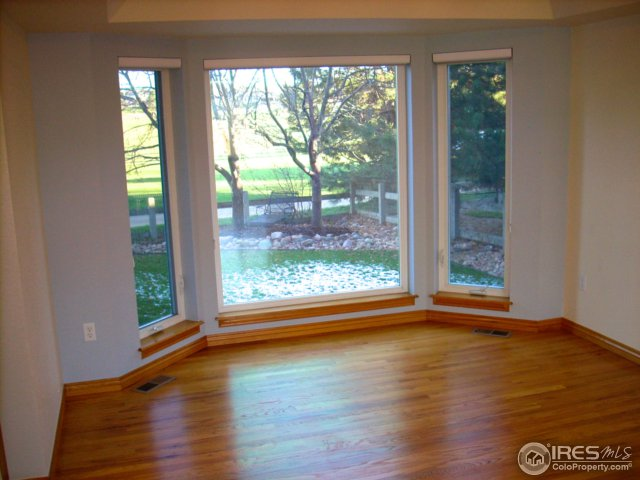 Real oak hardwood floors