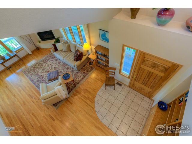 light, bright & airy, vaulted ceilings