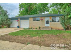 Brick ranch with 2 car garage: 1768, Centennial, Longmont