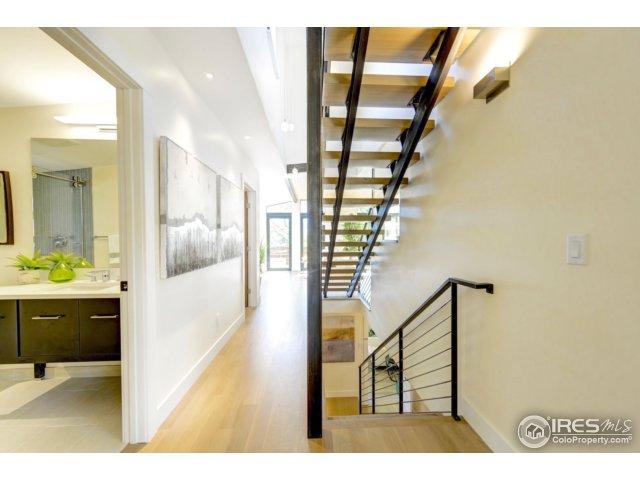 Custom metal & wood stair