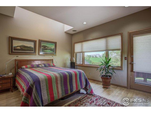 Bedroom mountain views