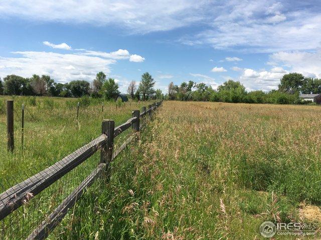 East fence line boundary
