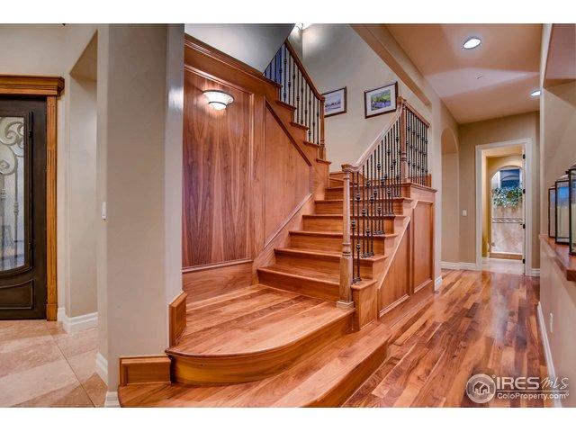 Extensive Walnut Wood Flooring Thru-Out