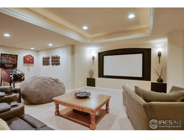 Basement Media room, projector & screen included!