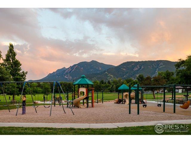 North Boulder Park Steps Away!