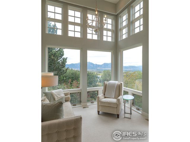 Summer view from Master suite reading-sitting room