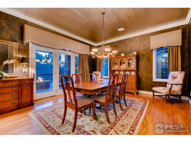 Formal Dining Room w/ Access to Covered Back Deck