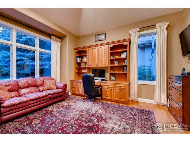 Main Floor Office w/ Built-Ins