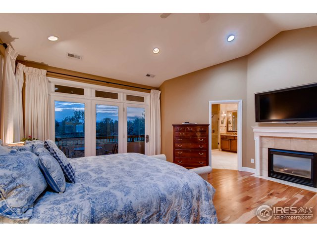 Master Bedroom w/ Gas Fireplace